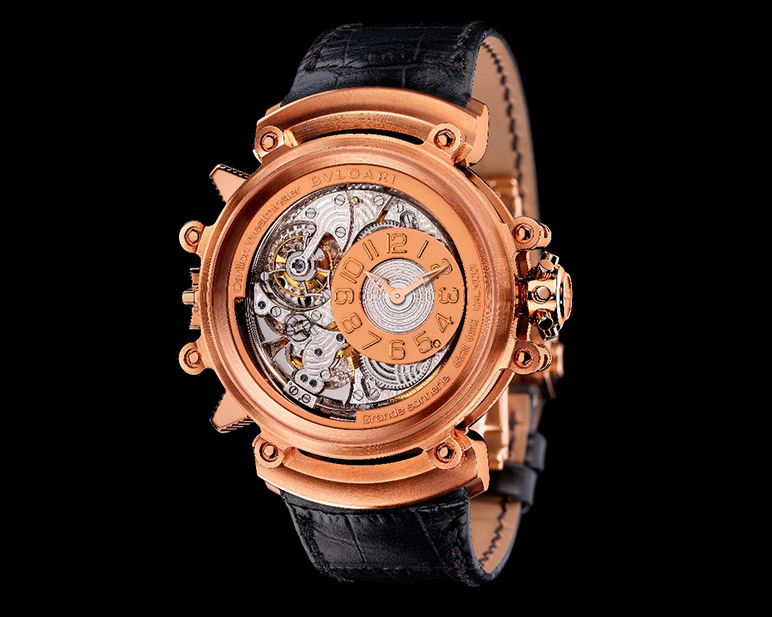 Bulgari: Magsonic with Westminster chimes grande sonnerie and tourbillon