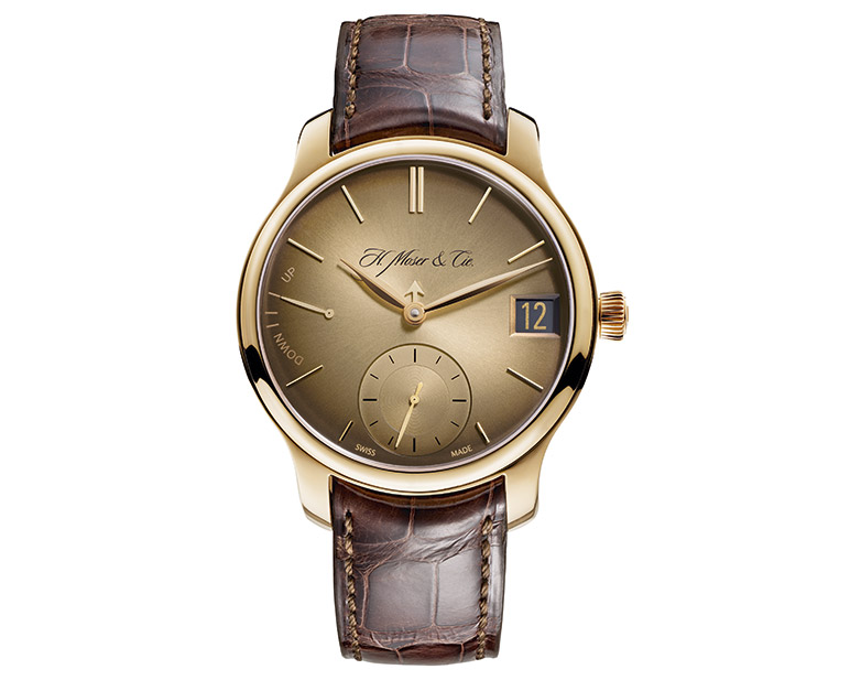 H. Moser & Cie : Moser Perpetual 1 « Golden Edition »