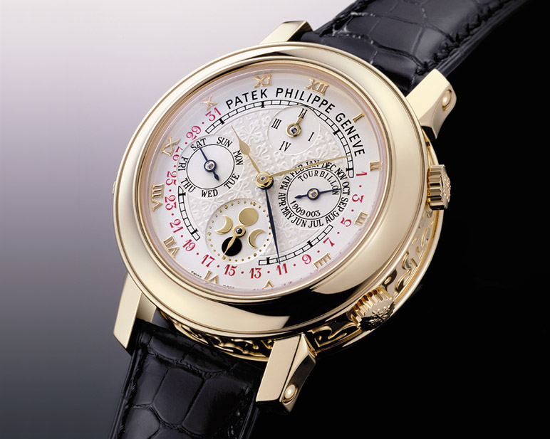 Patek Philippe : Skymoon Tourbillon