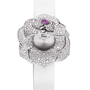 Piaget Rose Passion Secret Watch