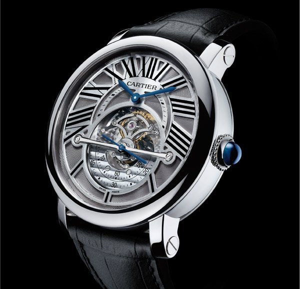 Cartier : Montre rotonde de Cartier Astrorégulateur/2011