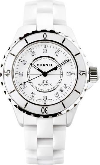 Chanel : J12 Cadran diamants
