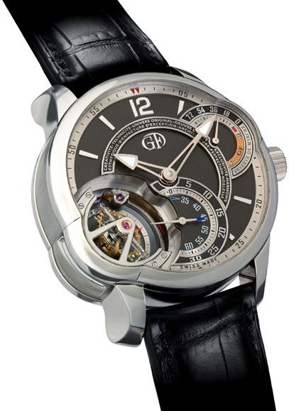 Greubel Forsey : Tourbillon 24 secondes incliné