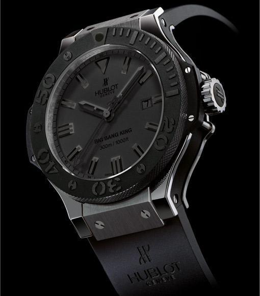 Hublot: Big Bang King All Black