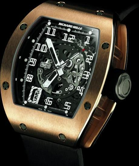 Richard Mille: RM 010-1, front