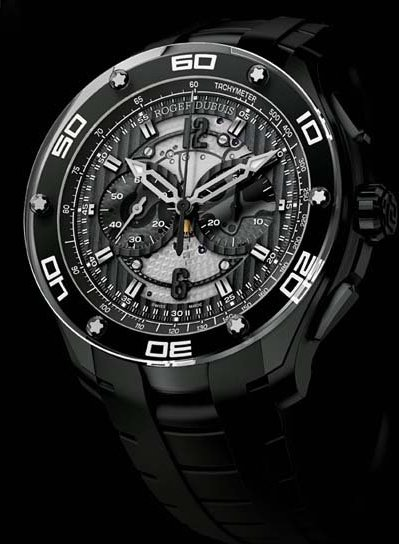 Roger Dubuis: Pulsion chronograph in black titanium/2012